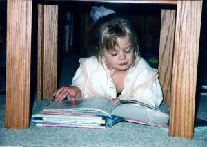 My early love of reading ;)